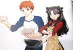 Fateスピンオフ料理マンガ「衛宮さんちの今日のごはん」2巻