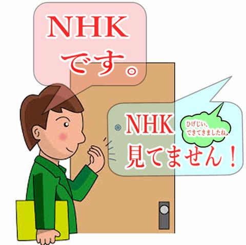 NHKの受信料の集金