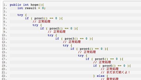 プログラムコードの特徴