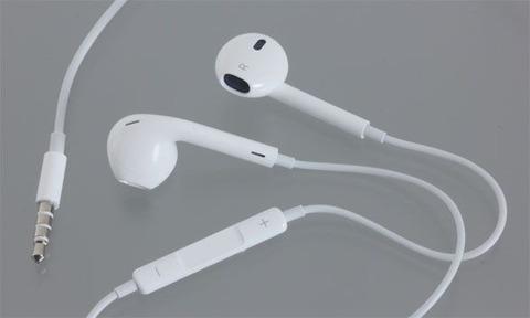 iPhone付属のイヤホン