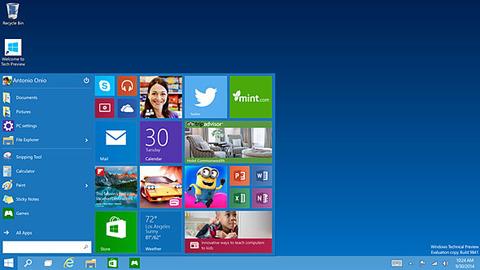 デスクトップ Windows10
