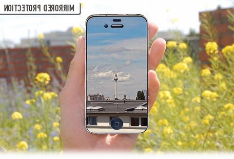 鏡とiPhone