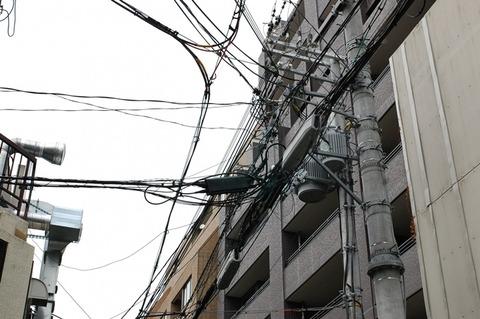 日本は電柱