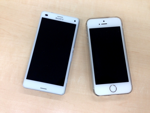 「iPhoneとAndroid