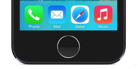 iPhone5sのホームボタン