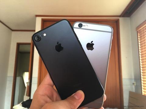 iPhone7より
