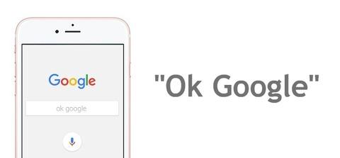 スマホに「グーグルオーケー