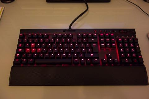3万円のキーボード使ってる」