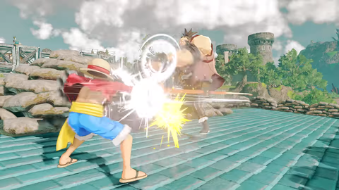 PS4(R)「ONE PIECE WORLD SEEKER」ティザーPV screenshot (13)