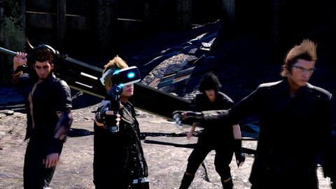 FF15 VR プロンプト