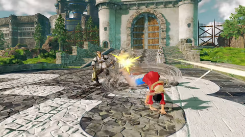 PS4(R)「ONE PIECE WORLD SEEKER」ティザーPV screenshot (11)
