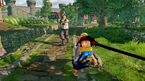 PS4(R)「ONE PIECE WORLD SEEKER」ティザーPV screenshot (14)
