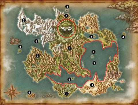 ドラクエ11 世界地図