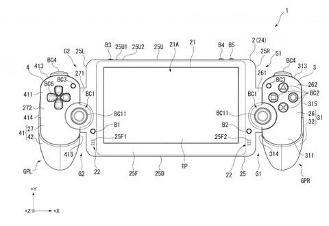 PSVita2 特許 真正面