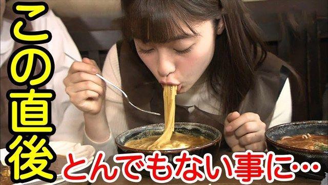 【芸能】橋本環奈がラーメン、餃子、半チャーハンを爆食いで視聴者大喜び「男らしい」