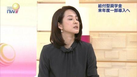 女子アナの人妻ミニスカ美脚&横乳ピタパン尻セクシー画像(NHK編)