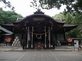 武田神社 拝殿