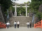 武田神社 正面入口