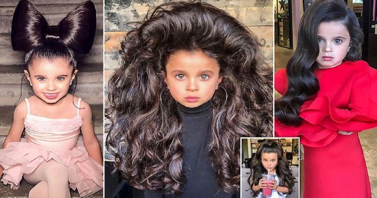 【イスラエル】美しすぎる5歳女児、SNSで両親に賛否両論も「VOGUE」のモデルへ!!※画像あり