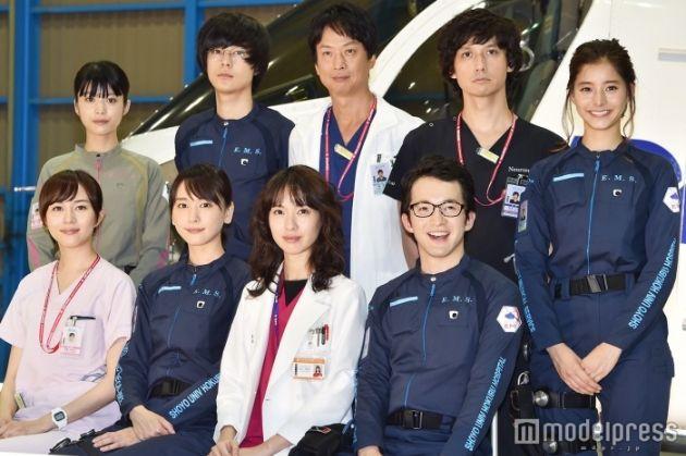 【画像】『コード・ブルー』美女キャスト5人 初回放送日の決起集会撮