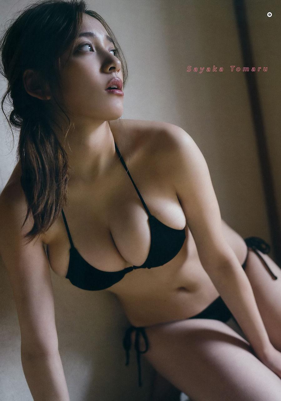 都丸紗也華(21)相変わらずむっちり美巨乳体がヌける最新グラビアwwww(えろ写真)