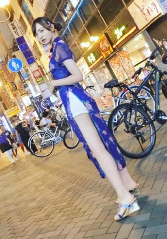 HKT48森保まどか(20)立ちんぼみたいなチャイナドレス姿の生足が抜けるww【エロ画像】 表紙