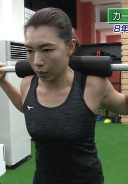 本橋麻里(31)カーリング選手のタンクトップ姿が抜けるww【エロ画像】 表紙