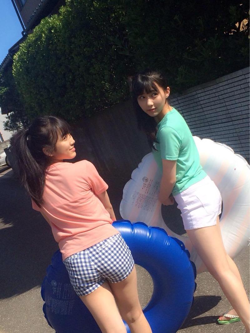 【有名人,素人画像】HKT,矢吹奈子(15)のプリ尻がえろい☆田中美久のお乳もでかい☆なこみくが育成成功と話題に