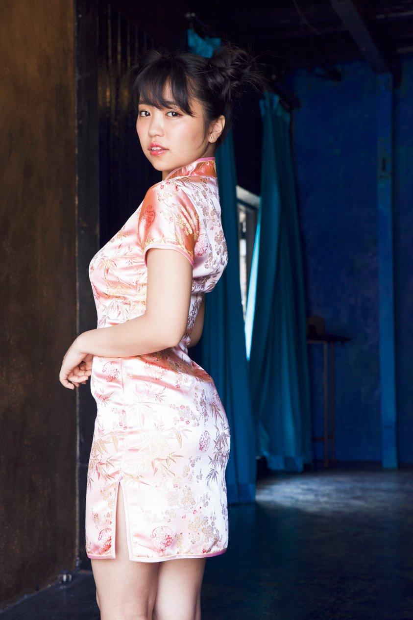 大原優乃(18)最新のチャイナドレス姿や水着グラビアがぐうシコww【エロ画像】