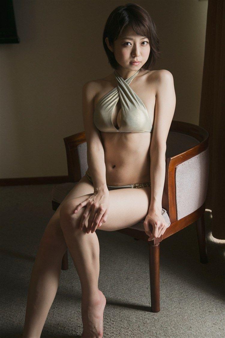 中村静香 (28)Fカップ、癒し系有名人のスイカップぽっちゃり体がけしからん★★★《エロ画像》