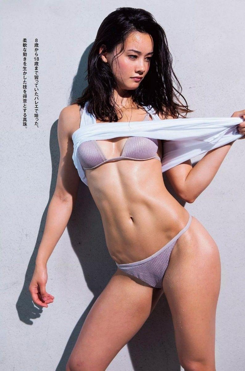 真珠・野沢オークライヤー(24)格闘家のセクシーグラビアが抜けるww【エロ画像】