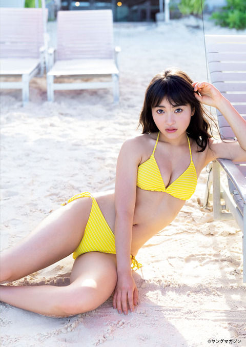 日本一かわいい女子高生・福田愛依(18)の初水着グラビアがエ□い