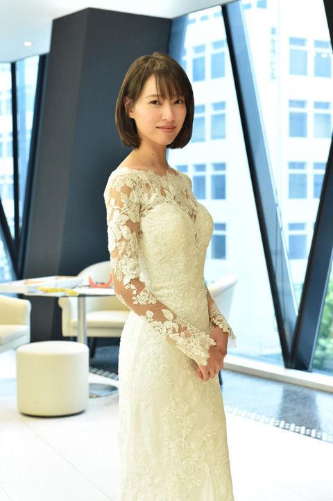 戸田恵梨香(29)の白いスケスケドレス姿がエロいww【エロ画像】