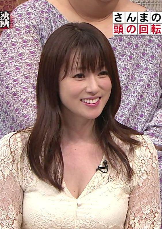深田恭子(35)さり気ない胸チラ谷間がぐうシコ。。【エロ画像】
