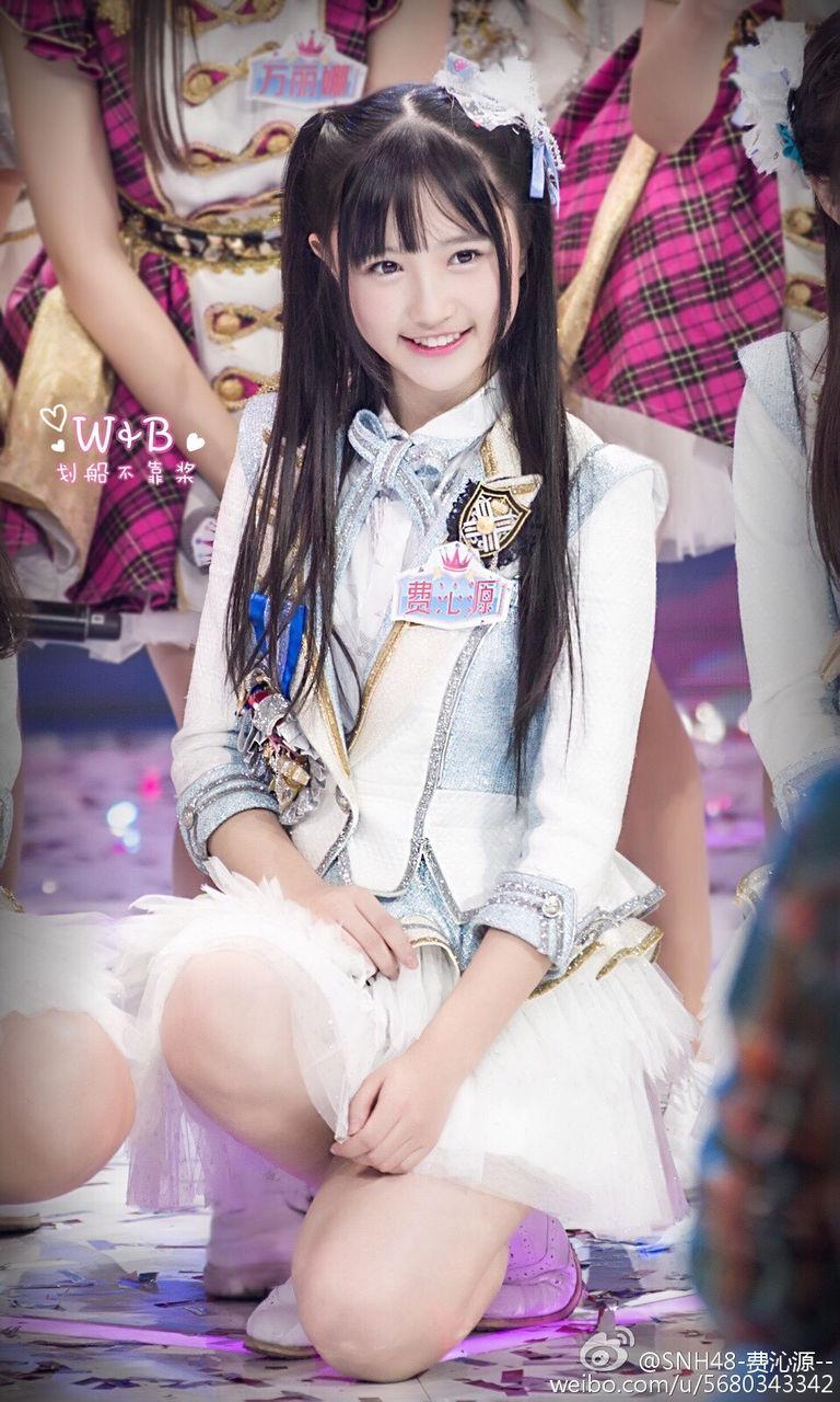 [お宝NAVI] SNH48の費沁源/フェイ・チンユェン(16)ぐうカワ美ぎゃるすぎる☆☆【エロ画像】