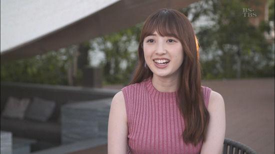 團遥香(25)の着衣ニットのお○ぱいがエ●チ