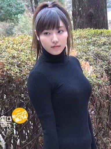 モー娘。譜久村聖(17)のはちきれそうなセーター姿けしからんwww【エロ画像】