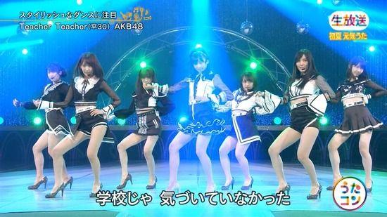 AKB48の新曲「Teacher Teacher」がエロいww【エロ画像】