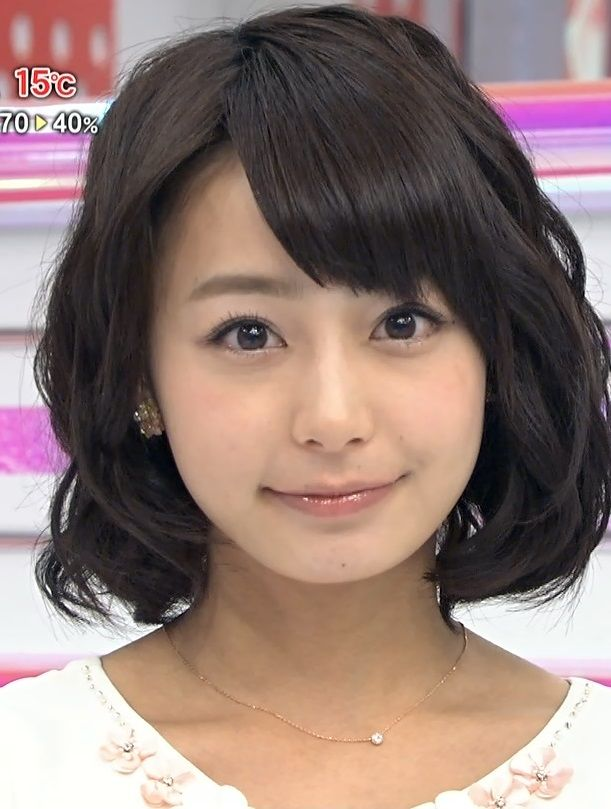 宇垣美里アナの顔が相変わらず可愛すぎる!ドアップにも耐える事ができるこんな極上女子アナと付き合ったりできる野球選手が羨ましい【エロ画像】
