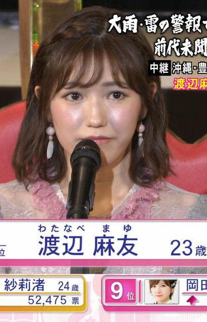 渡辺麻友(23)AKB卒業を決意した抱き心地良さそうな美巨乳体がえろいwwww(えろ写真)