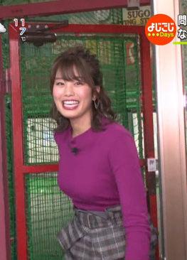 稲村亜美(21)Fカップの最新着衣美巨乳ニットがヌけるwwww(えろ写真)