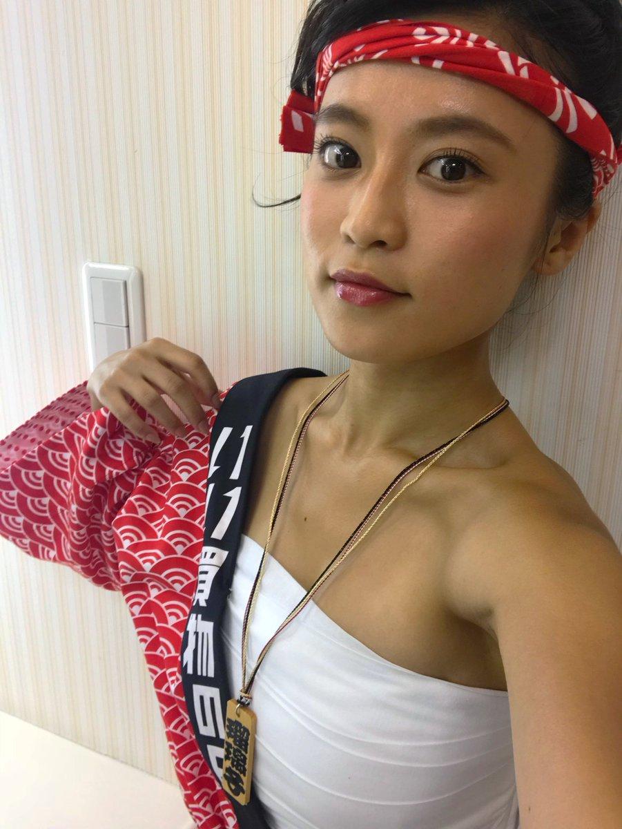 小島瑠璃子(23)YAHOOのCMのサラシ巻いた姿がえろいwwww(えろ写真)