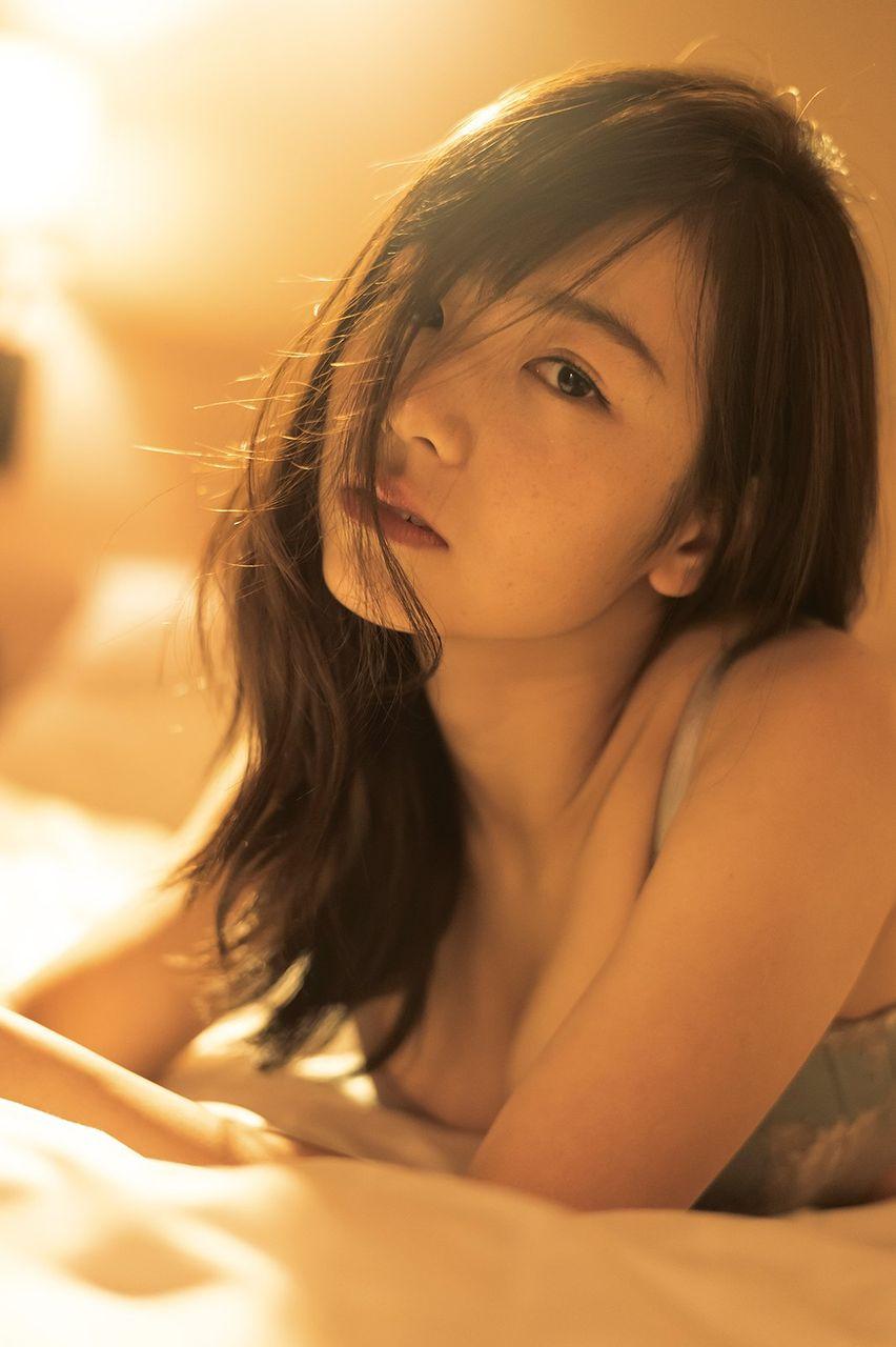 北野日奈子(22)の初のランジェリー姿がぐうシコwwww(えろ写真)