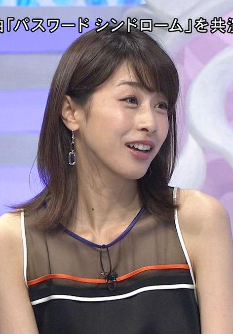 加藤綾子(33)のEカップと着衣おっぱいがエロいww【エロ画像】 表紙