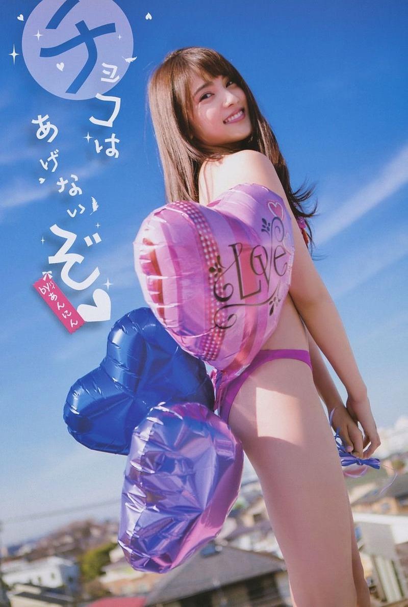 AKB入山杏奈(20)の美ウエストと美脚がたまらん!引き締まった尻も最高!【エロ画像】
