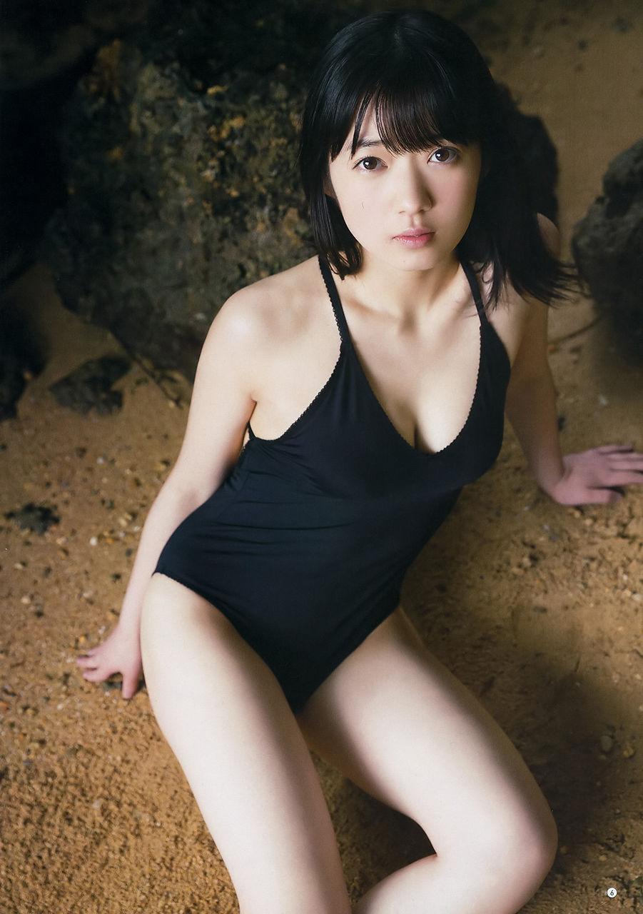つばきファクトリー山岸理子(19)水着グラビアが魅力たっぷりで抜ける♪♪【エロ画像】
