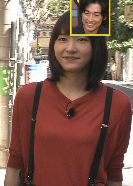新垣結衣(29)サスペンダー着衣ニットがなんかえろいwwww(えろ写真)