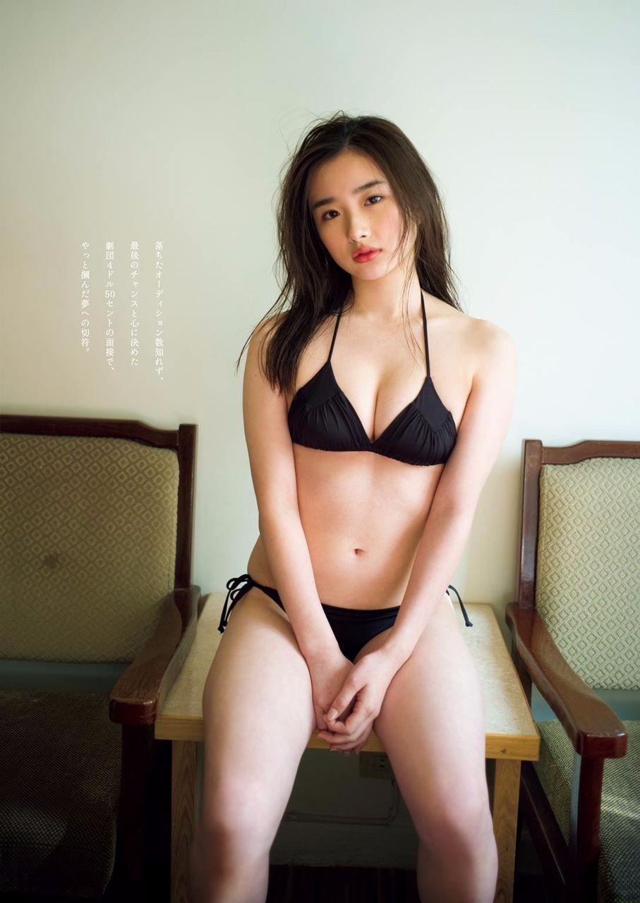 安倍乙(18)通学服ぎゃる劇団員が石原さとみ激似で抜ける☆☆【エロ画像】