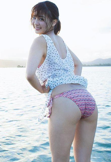平嶋夏海(25)立ちSEXでガン突きしたくなるデカヒップがけしからん☆☆【エロ画像】