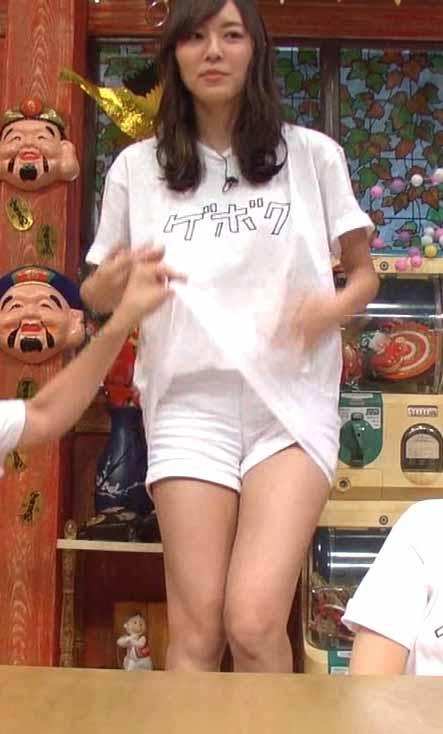 松井珠理奈(20)ノーパンと思わせる生足太ももがクッソえろいwwww(えろ写真)